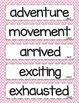 Kindergarten McGraw Hill Wonders Oral Vocabulary Word Cards