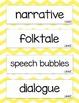 Kindergarten McGraw Hill Wonders Vocabulary Word Cards (Academic Words)