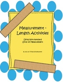 Kindergarten Measurement Activity Pack - Length