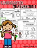 Kindergarten Measurement: Height, Length, Weight, Capacity