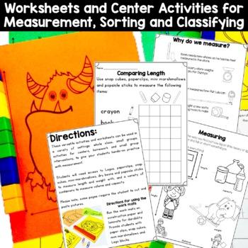 Kindergarten Measurement: Measuring and Comparing (K.MD.1; K.MD.2; K.MD.3)