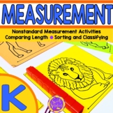 Kindergarten Measurement: Measuring and Comparing (K.MD.1; K.MD.2; K.MD.3)