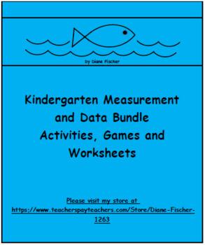 Kindergarten Measurement and Data Bundle