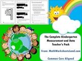 Kindergarten Measurement and Data Teacher's Pack - Complete Core Aligned