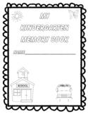 Kindergarten Memories! An End-of-the-Year Memory Book!