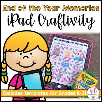 Kindergarten Memories iPad Craftivity