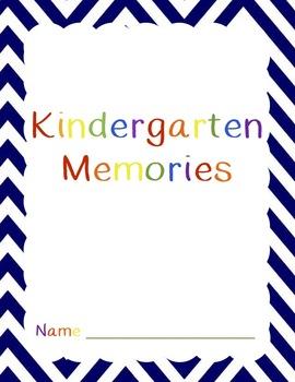 Kindergarten Memory Book 2015-2016