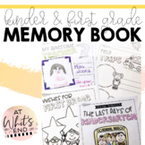 The Last Days of Kinder and First Grade {Memory Book}