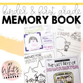 Kindergarten Memory Book {Last Days of Kindergarten} End o