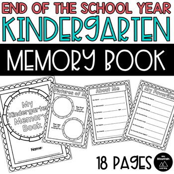 End the Year Memory Book