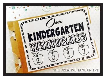 Kindergarten Memory Book A simple and cute keepsake Kindergarten Teacher