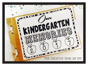 Kindergarten Memory Book A simple and cute keepsake Kinder