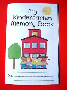 Kindergarten Memory Book (An End of School Year Activity)