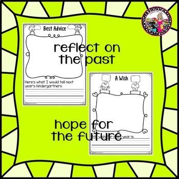 Kindergarten Memory Book! END OF YEAR!