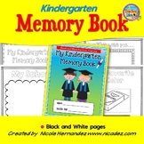 Kindergarten Memory Book (With Student Photo Front Cover Options)