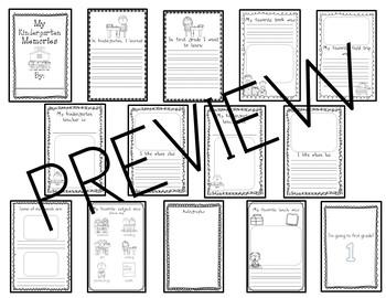 Kindergarten Memory Book/ Mis Recuerdos De Kinder (Bilingual kinder memory book)