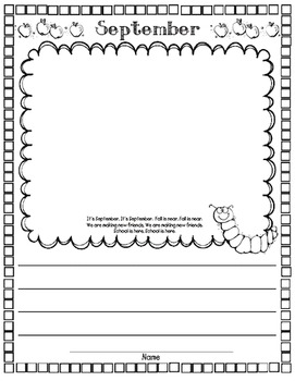 Kindergarten & First Grade Memory Book
