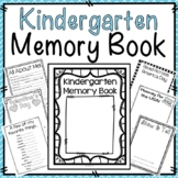 Kindergarten Memory Book (End of Year Memory Book)
