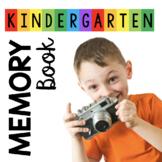 Kindergarten Memory Book - School Memories - End of the School Year Activities