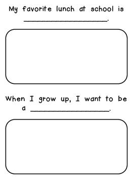 Kindergarten Memory Book- Super Simple!!