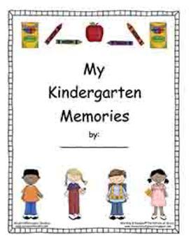Kindergarten Memory Book and Kindergarten Diploma (Diplomas)
