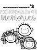 Kindergarten Memory Books