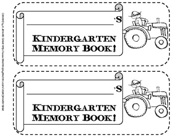 Kindergarten Memory Flip Book ~A Fun Song To Remember The Year~