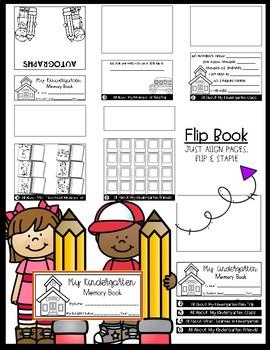 Kindergarten Memory Flipbook