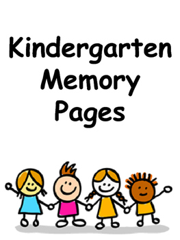 Kindergarten Memory Pages