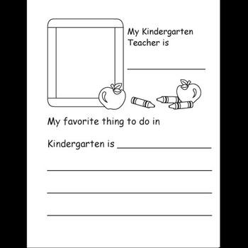 Kindergarten Memory / Year Book