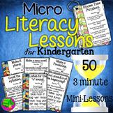 Kindergarten  Literacy Lessons
