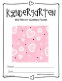 Kindergarten Mid Winter Vacation Packet