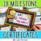 Kindergarten Milestone Award Certificates (Tie My Shoes, Know My Alphabet Etc.)