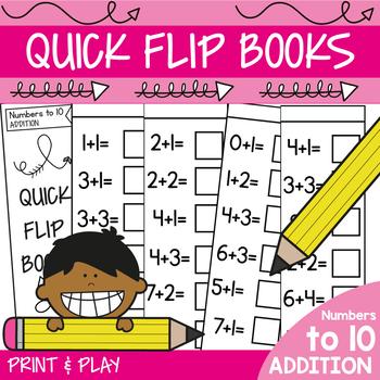 Fun Addition Mini Books No Prep Practice