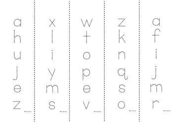 Alphabet Activity Books Upper and Lowercase