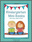 Kindergarten Mini-Books Bundle