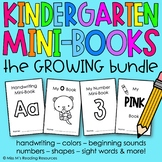 Kindergarten Mini-Books Bundle