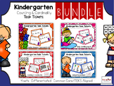 Kindergarten Mini Bundle: Counting & Cardinality: Task Tickets (Differentiated)