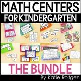 Kindergarten Mini Math Centers Bundle