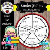 Kindergarten Missing Number Wheel Foldable