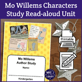 Kindergarten Mo Willems Characters Study (Activity Booklet & Lesson Plan)