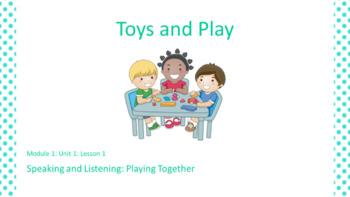 Kindergarten Module 1 Unit 1 Lesson 1 EL PowerPoint