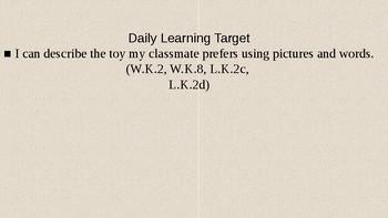 Kindergarten Module 1 Unit 3 Lesson 11