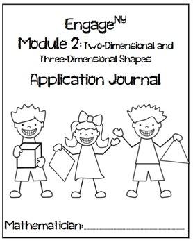 Kindergarten Module 1 and 2 Application Journal Bundle