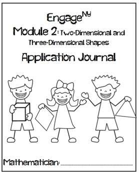 Kindergarten Module 1 and 2 Application Journal Bundle