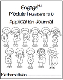 Kindergarten Eureka Math (Engage NY) Module 1 and 2 Application Journal Bundle