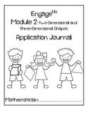 Kindergarten Eureka Math (Engage NY) Module 2 Application Journal