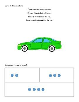 Kindergarten Module 2 Math Assessments Engage NY/Eureka Math