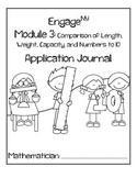 Kindergarten Eureka Math (Engage NY) Module 3 Application Journal