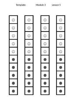 Kindergarten Module 3 Templates